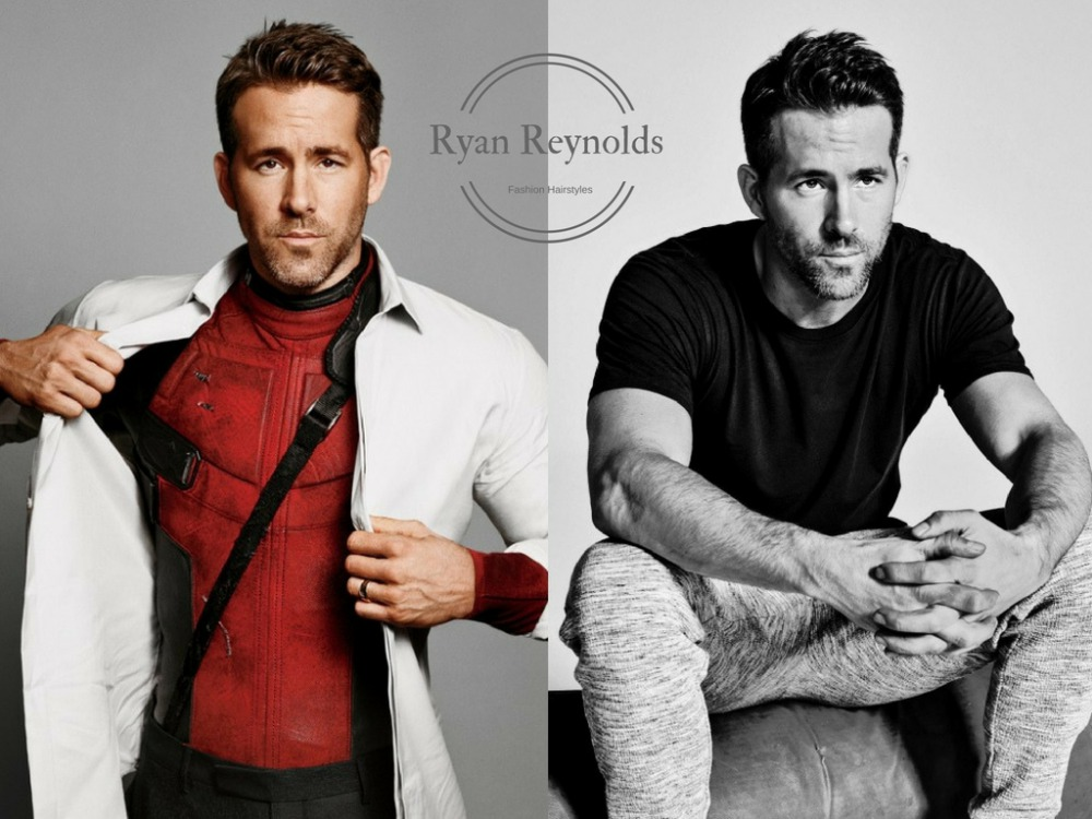 ryan reynolds men fashion hairstyles BIG  - 从Ryan Reynolds多变的发型中找灵感!