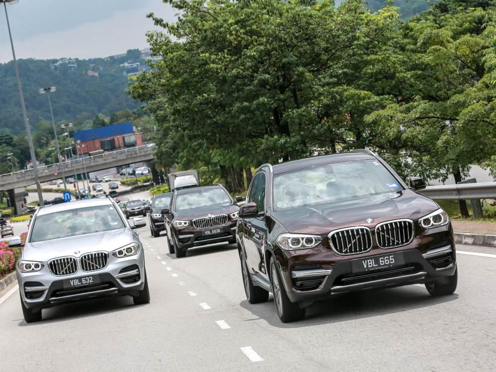 the all new BMW X3 xDrive30i car 14 - BMW X3 奢华动感轻休旅
