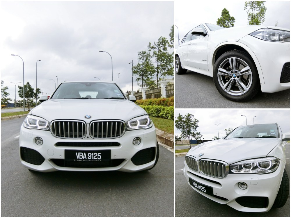 BMW X5 xDrive40e review exterior - [test drive]BMW X5 xDrive40e 强势设计 豪华体验!