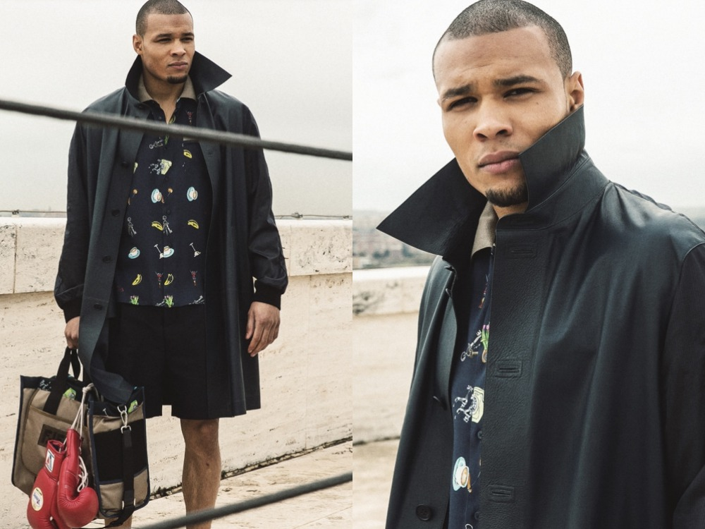 F is for…Fighter x Chris Eubank Jr fashion jacket - F is for…Fighter 拳王上阵演绎 Fendi