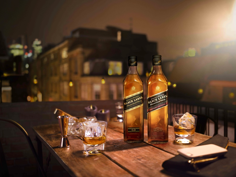 Johnnie Walker Black Label Sherry Edition and Black Label BIG  - Johnnie Walker Black Label Sherry Edition 浓郁果香,亚洲独家!