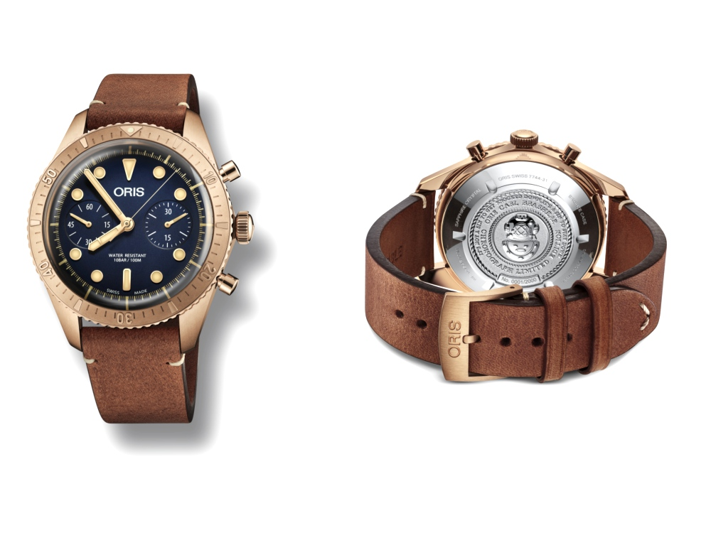 Oris Carl Brashear Chronograph Limited Edition Launch malaysia 3 - 新表大马推介礼,Oris述说Carl Brashear的英雄事迹
