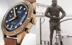 Oris Carl Brashear Chronograph Limited Edition Launch malaysia BIG  240x150 - 新表大马推介礼,Oris述说Carl Brashear的英雄事迹