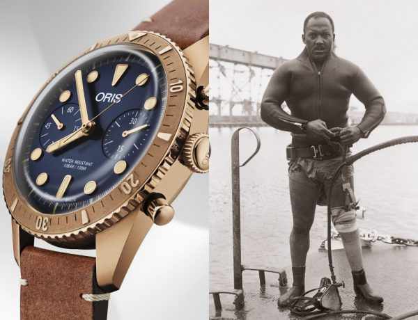 Oris Carl Brashear Chronograph Limited Edition Launch malaysia BIG  600x460 - 新表大马推介礼,Oris述说Carl Brashear的英雄事迹