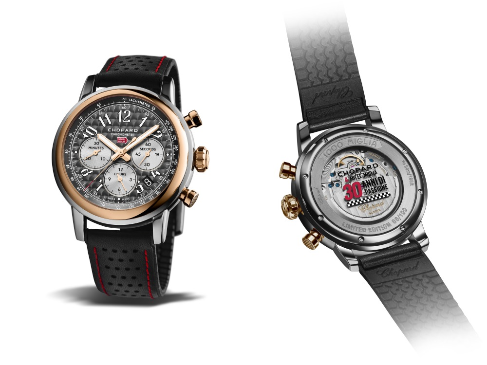 chopard mille miglia 2018 race edition watch 1 - Chopard 对古董赛车持续30年的热情!