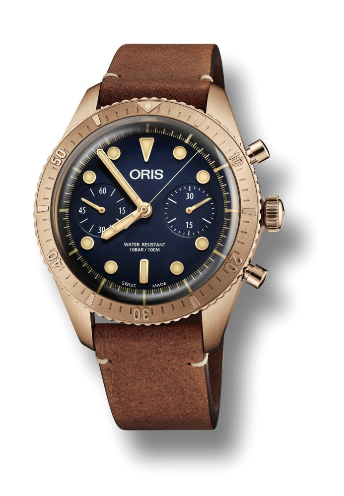 editors picks baselworld 2018 watches oris carl brashear chronograph limited edition  - 编辑推荐:Baselworld 2018 理想型表款