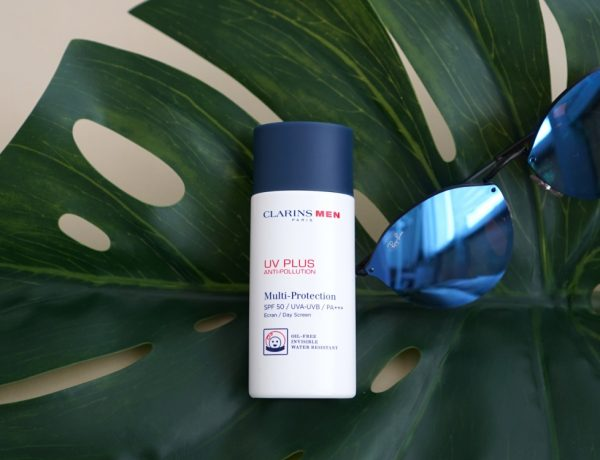 mens sunscreen and uv protection clarins men uv plus BIG  600x460 - 为肌肤健康着想,没有不防晒的理由!