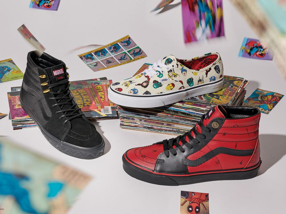 vans marvel collection off the wall 2018 4 - Vans超级英雄系列,极致满足Marvel迷!