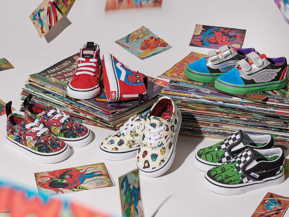 vans marvel collection off the wall 2018 6 - Vans超级英雄系列,极致满足Marvel迷!