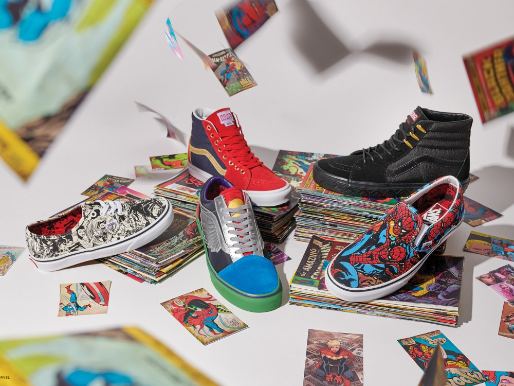 vans marvel collection off the wall 2018 BIG  - Vans超级英雄系列,极致满足Marvel迷!
