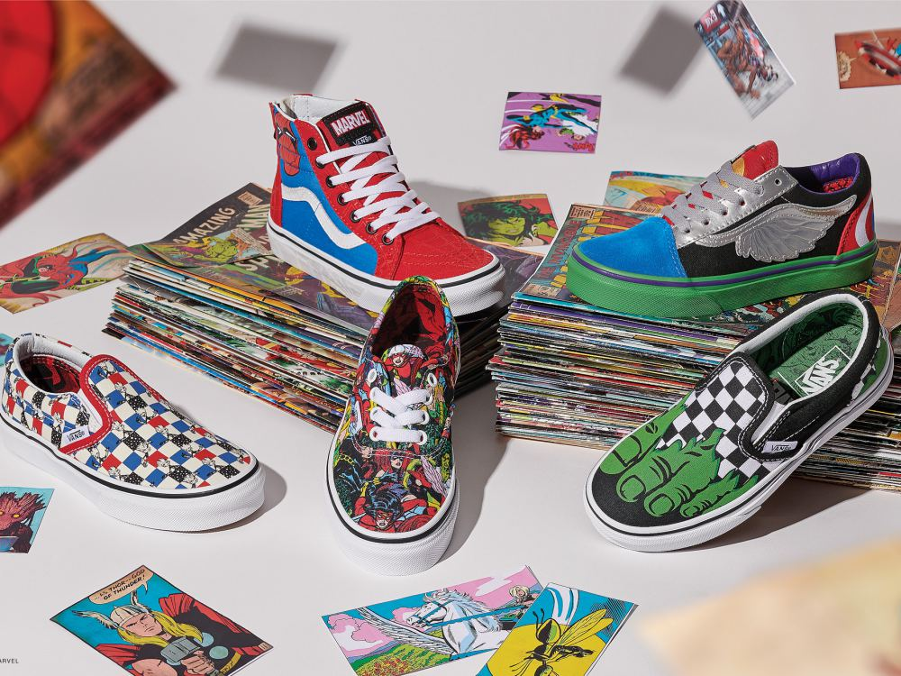 vans marvel collection off the wall 2018 kids 1 - Vans超级英雄系列,极致满足Marvel迷!