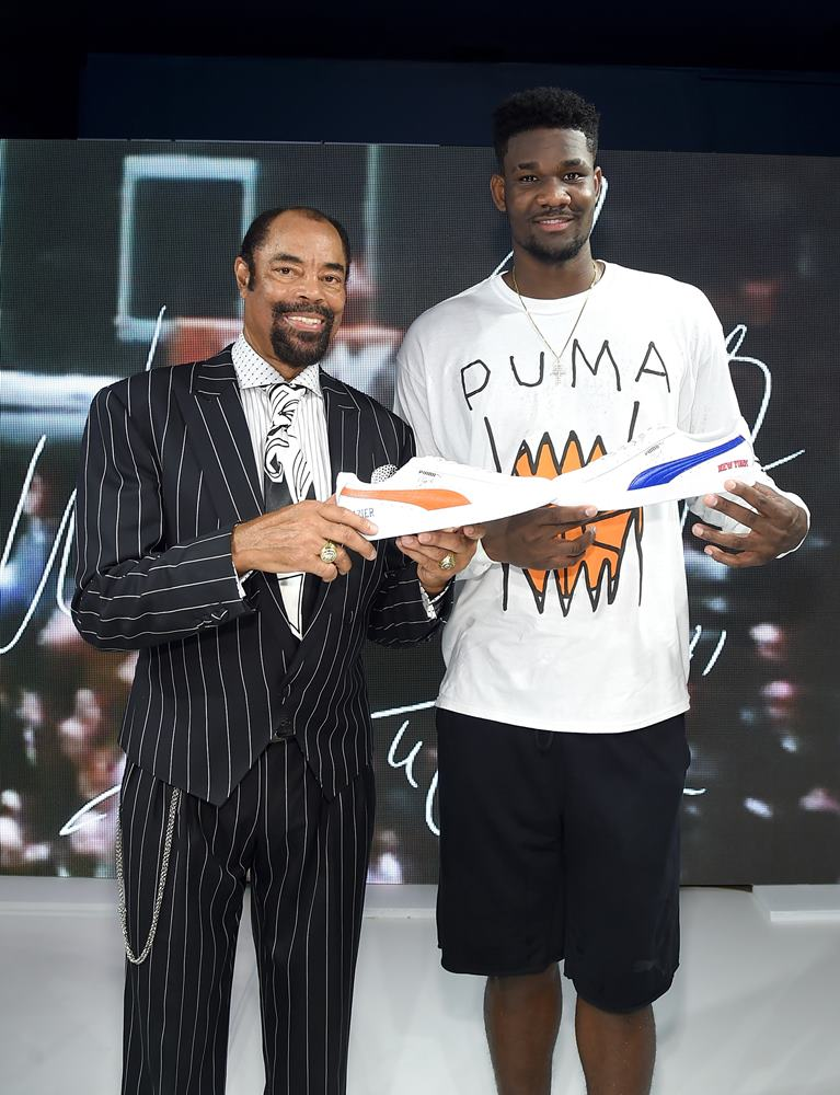fc57e96debfefe Deandre Ayton Walter Clyde Frazie - PUMA Signs First Ever Life Long Contract  With Basketball Legend