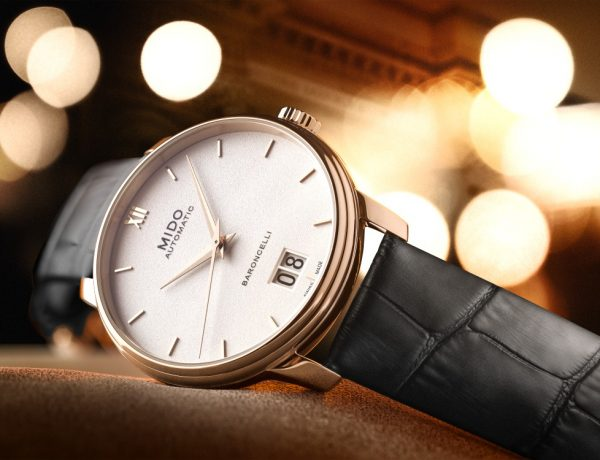 Mido 100th years anniversary baroncelli big date 1 600x460 - MIDO 100周年 永恒璀璨之美