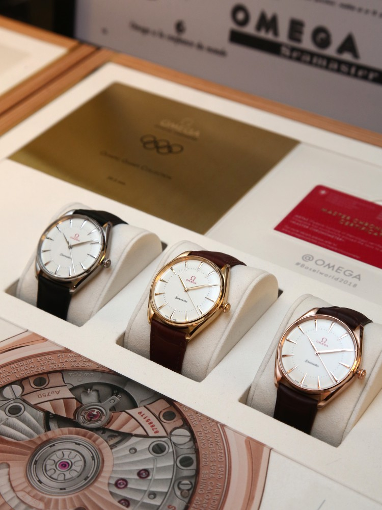 Omega Baselworld 2018 Exclusive Event in Malaysia Seamaster Olympic Games Gold Collection - Omega 来马分享卓越的至臻设计