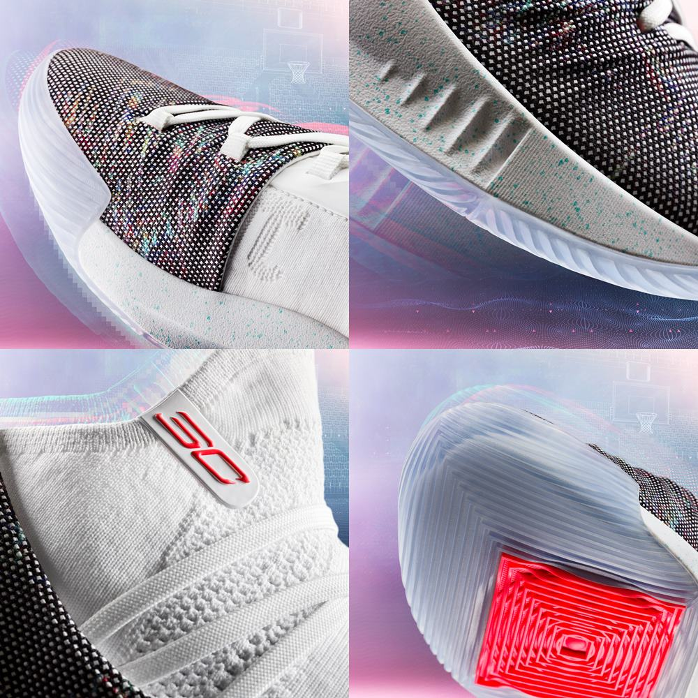Under Armour Curry 5 detail - Under Armour Curry 5 篮球赛速度之争!