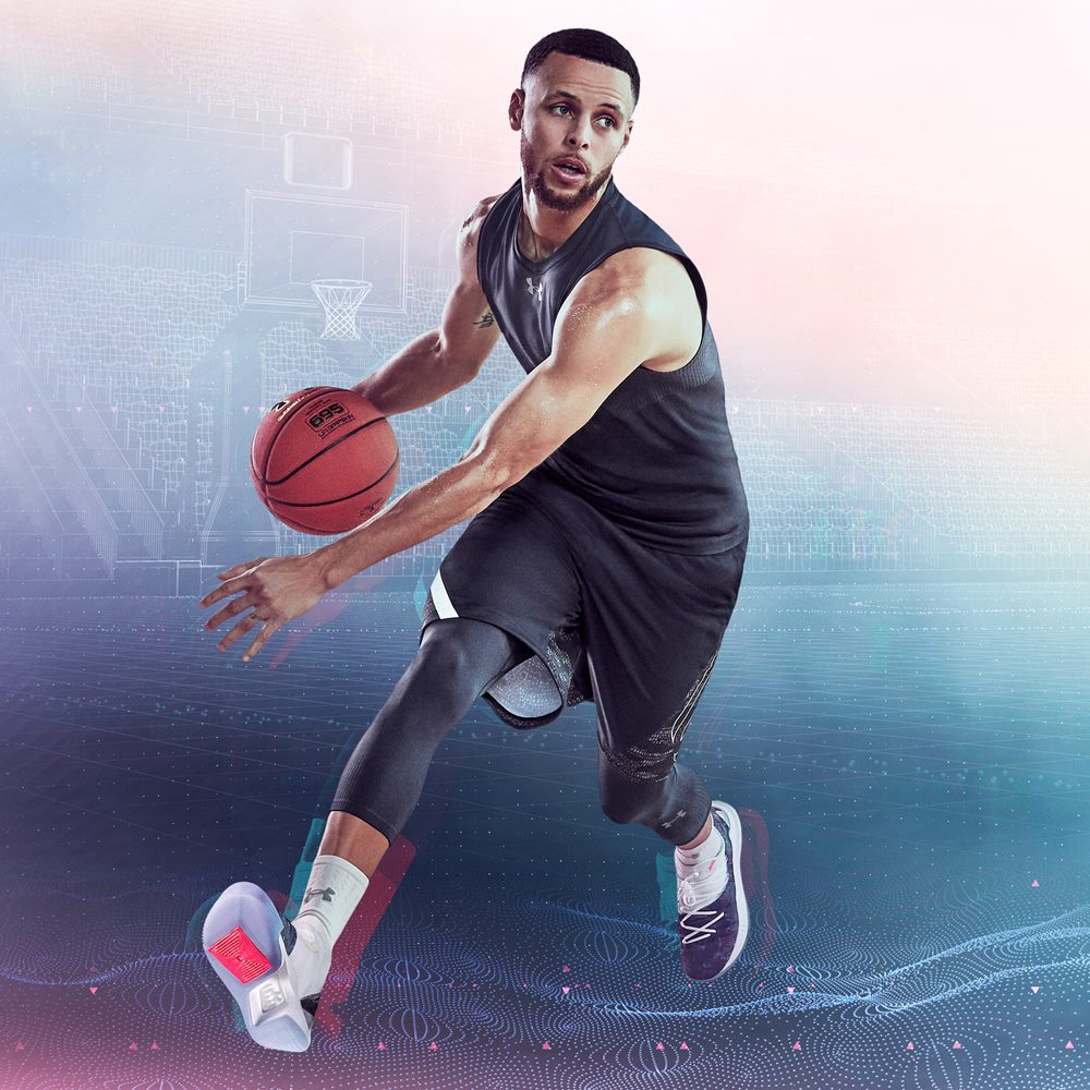 Under Armour Curry 5 for Stephen Curry - Under Armour Curry 5 篮球赛速度之争!