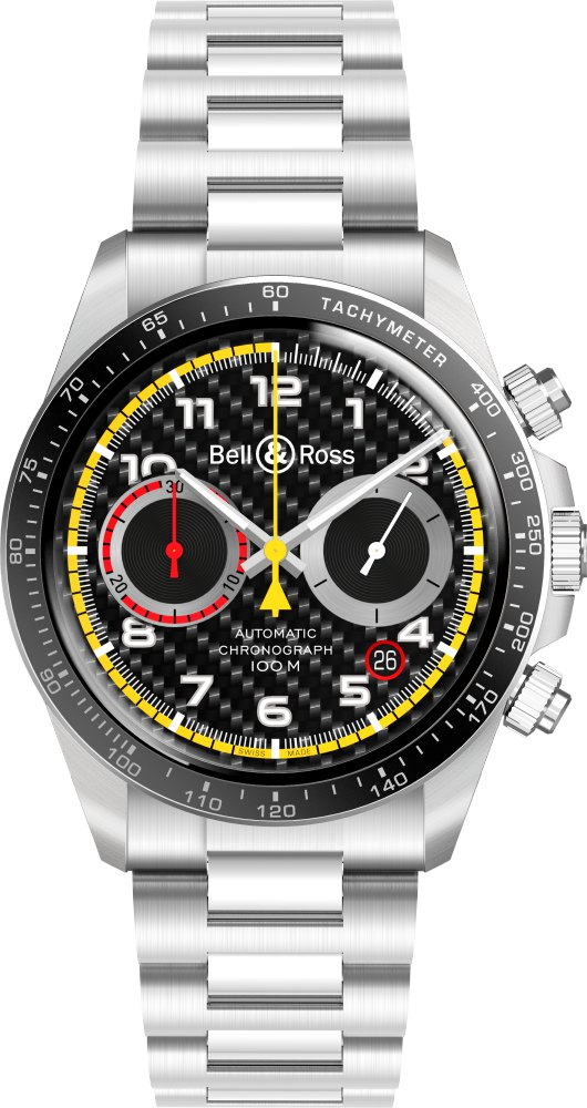 bell ross BRV2 94 RS18 watch metal  - Bell & Ross 尽显竞速气势!
