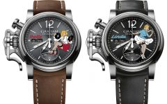 graham chronofighter vintage nose art art of noise BIG 240x150 - 热情女郎舞动Graham Chronofighter Vintage Nose Art腕表!