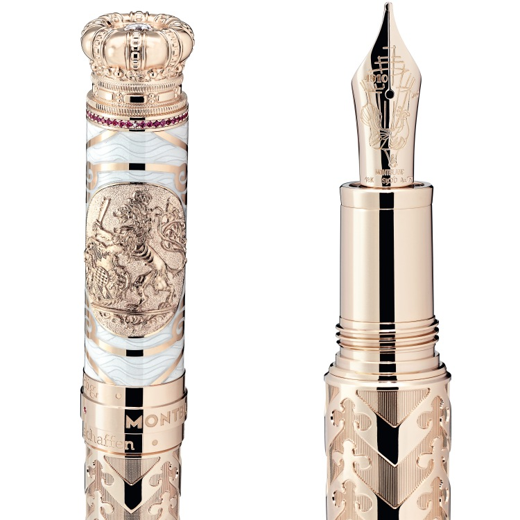 montblanc patron of art homage to ludwig II limited edition 40 fountain pen 2 - Montblanc 华丽天鹅致敬Ludwig II的浪漫伟绩!
