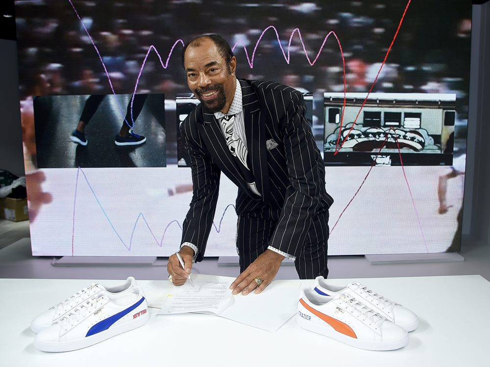 073635d6911c6a puma Walter Clyde Frazier 2018 - PUMA Signs First Ever Life Long Contract  With Basketball Legend