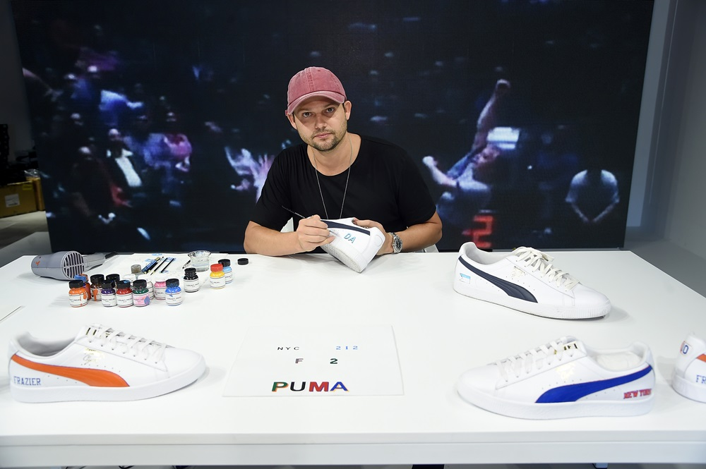 ea69a9e9344d42 puma Walter Clyde Frazier event - PUMA Signs First Ever Life Long Contract  With Basketball Legend