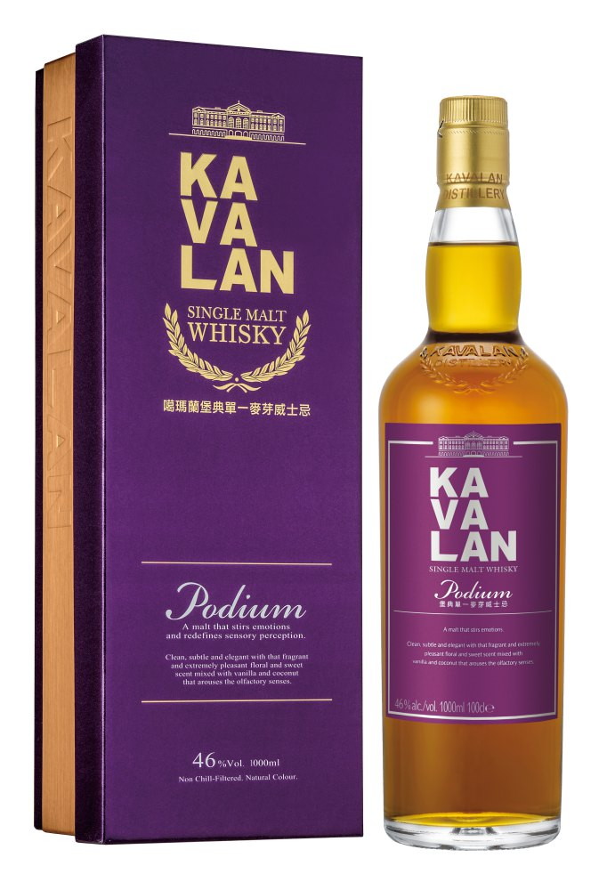 the taiwan single malt whisky kavalan kavalan podium  - 你我从未想过的威士忌冠军——来自台湾的KAVALAN!