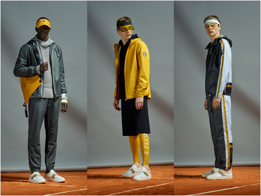 z zegna summer 2019 game set and match 22 - Z Zegna 活力运动风,玩转球场时尚!