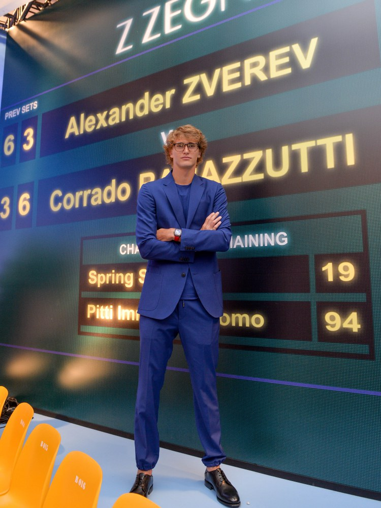 z zegna summer 2019 game set and match Alexander Zverev  - Z Zegna 活力运动风,玩转球场时尚!