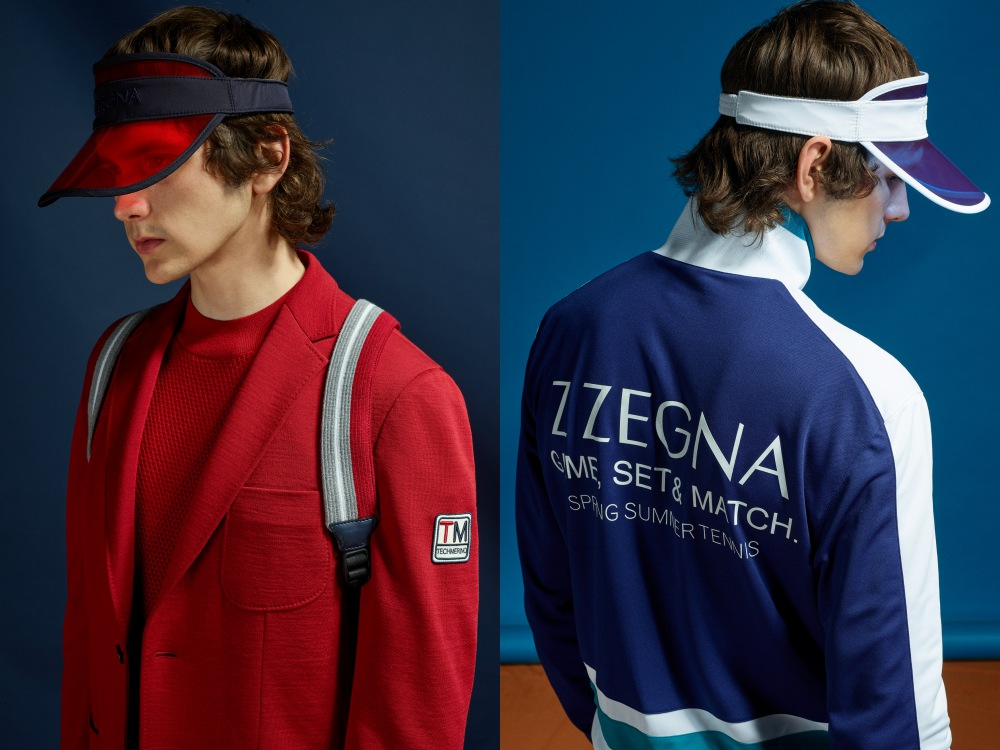 z zegna summer 2019 game set and match BIG  - Z Zegna 活力运动风,玩转球场时尚!