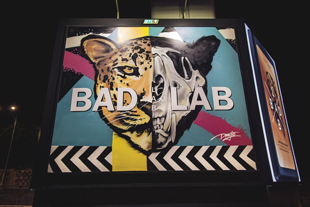 Badlab Billboard 10 - BADLAB 坏男孩上街涂鸦
