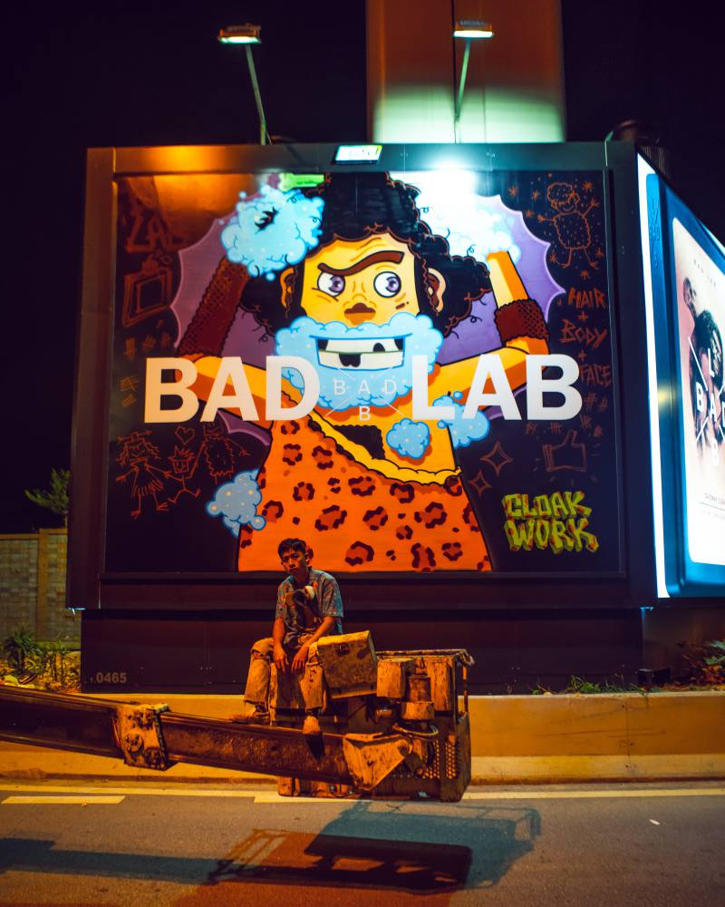 Badlab Billboard 9 - BADLAB 坏男孩上街涂鸦