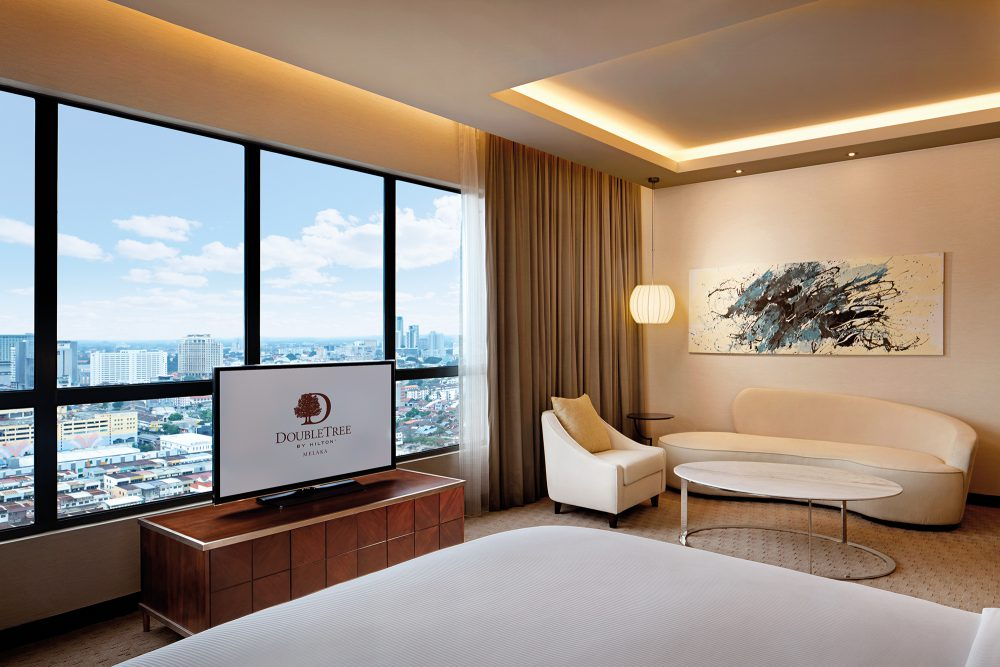DoubleTree by Hilton Melaka King One Bedroom Junior Suite Room - DoubleTree by Hilton Melaka 饱览马六甲文化特色