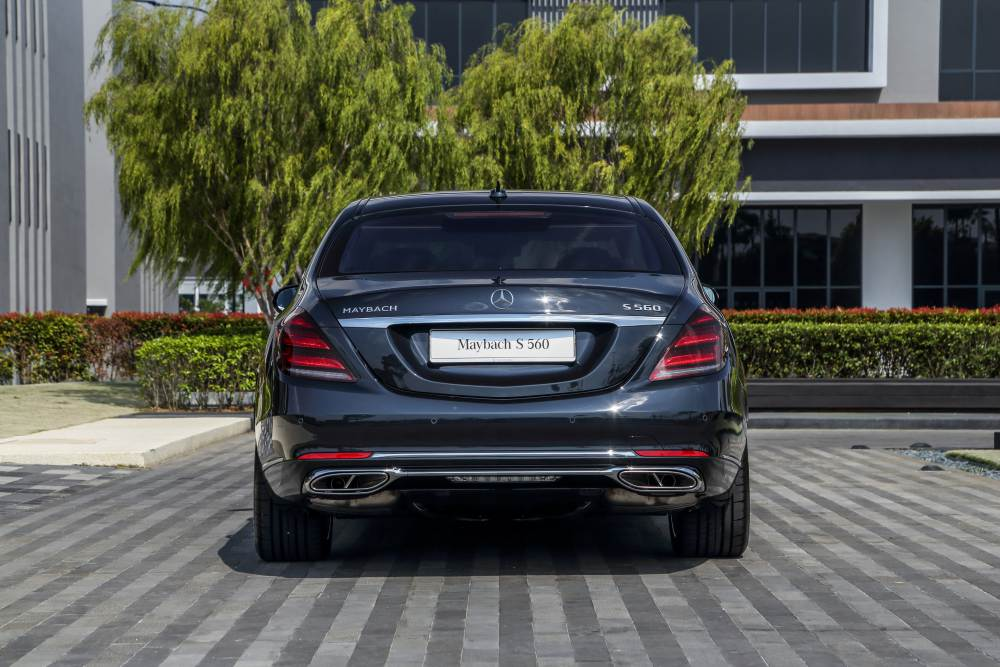 Maybach S560 2 - Mercedes-Benz S-Class 王者家族华丽登场
