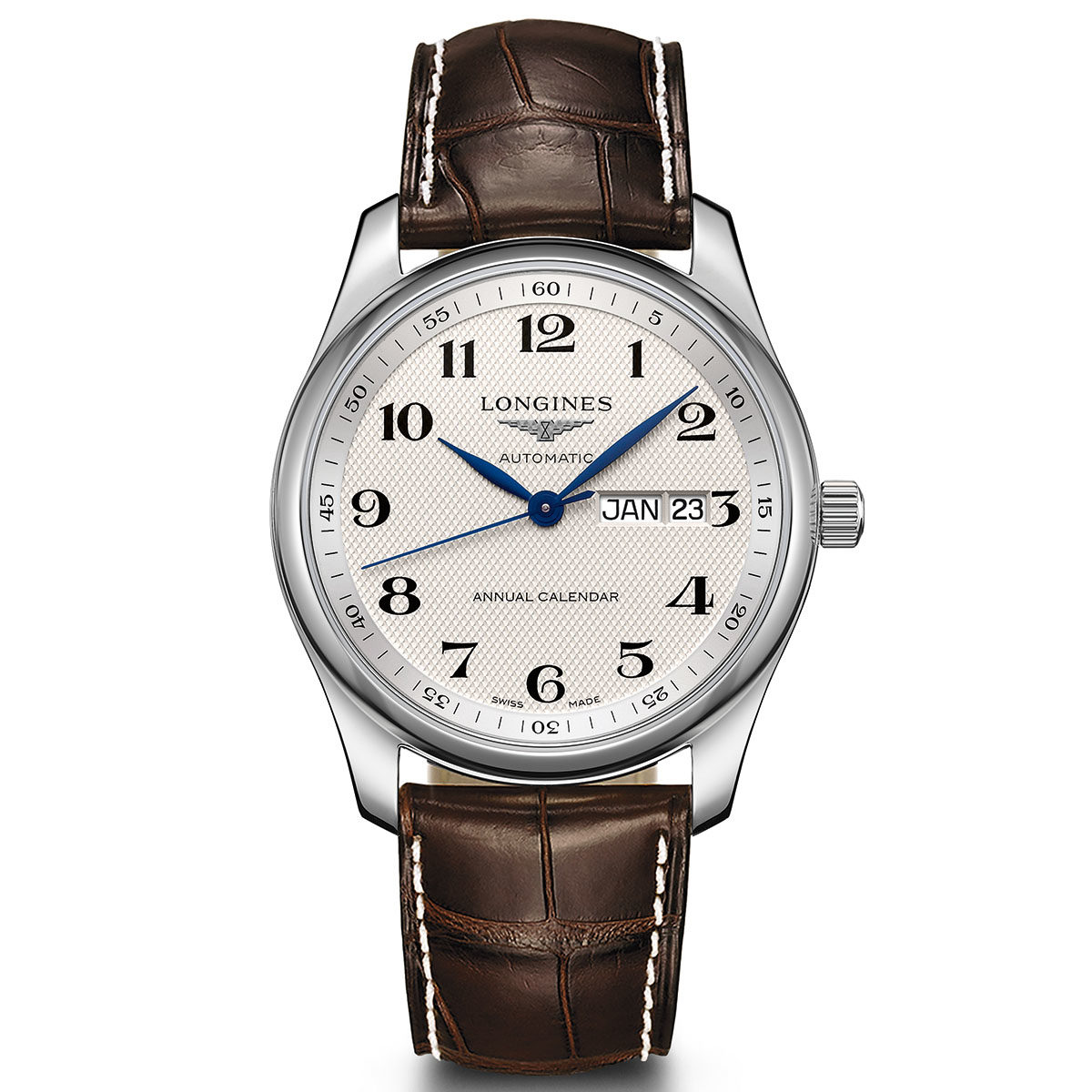 The Longines Master Collection Annual Calendar - 读懂你的表盘:日历表款解析