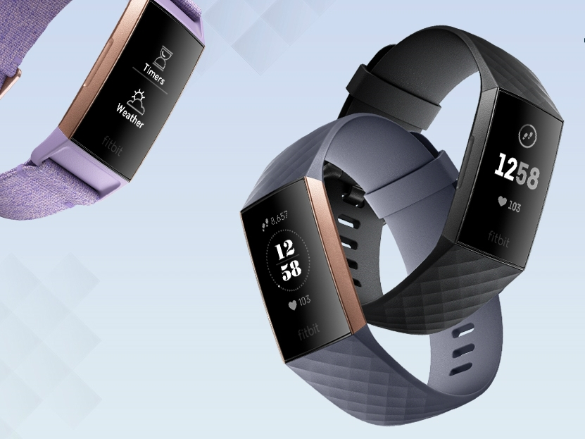 fitbit charge 3  - Fitbit Charge 3更先进的健康帮手!