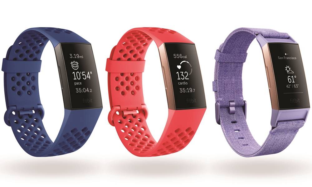 fitbit charge 3 colours - Fitbit Charge 3更先进的健康帮手!