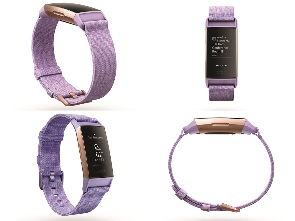 fitbit charge 3 purple - Fitbit Charge 3更先进的健康帮手!