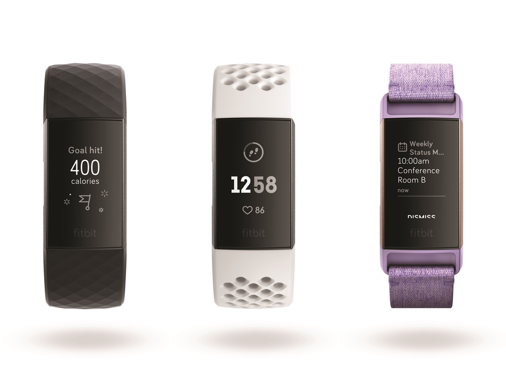 fitbit charge 3 touchscreen display - Fitbit Charge 3更先进的健康帮手!