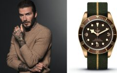 Born to Dare Tudor Heritage Black Bay Bronze 43mm David Beckham Feature 240x150 - #天生敢为 David Beckham再为Tudor迷人出境