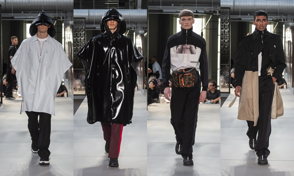 Burberry Spring Summer 2019 mens cloak - Riccardo Tisci 首秀,Burberry迈向新篇章