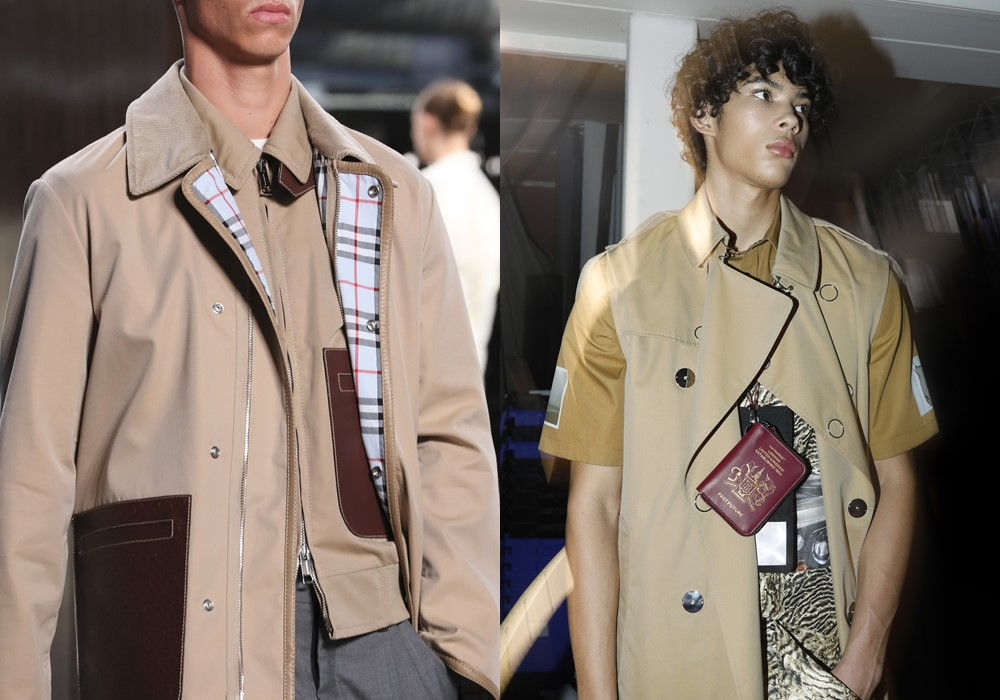 Burberry Spring Summer 2019 mens passport - Riccardo Tisci 首秀,Burberry迈向新篇章