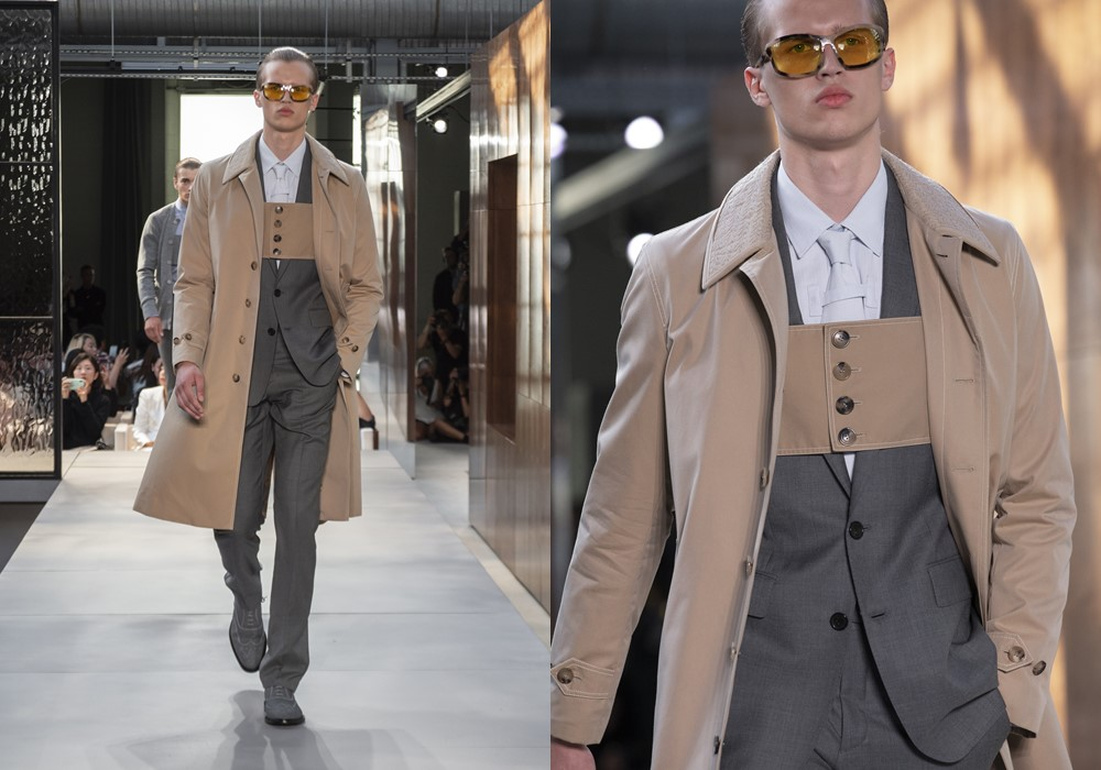 Burberry Spring Summer 2019 mens trench coat - Riccardo Tisci 首秀,Burberry迈向新篇章