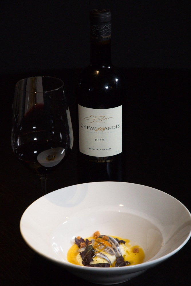 Cheval des Andes 2013 Match with Italian Burrata Food Pairing - Cheval des Andes 法国与阿根廷的顶级佳酿