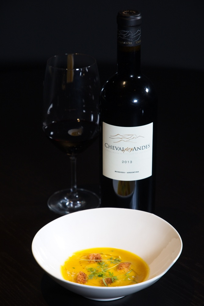 Cheval des Andes Butternut Squash with Cardamon - Cheval des Andes 法国与阿根廷的顶级佳酿