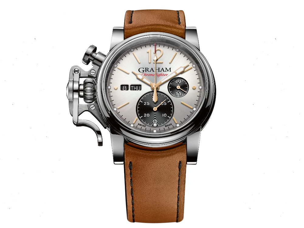 Graham Chronofighter Vintage Silver - Graham Chronofighter Vintage 承往昔,向未来