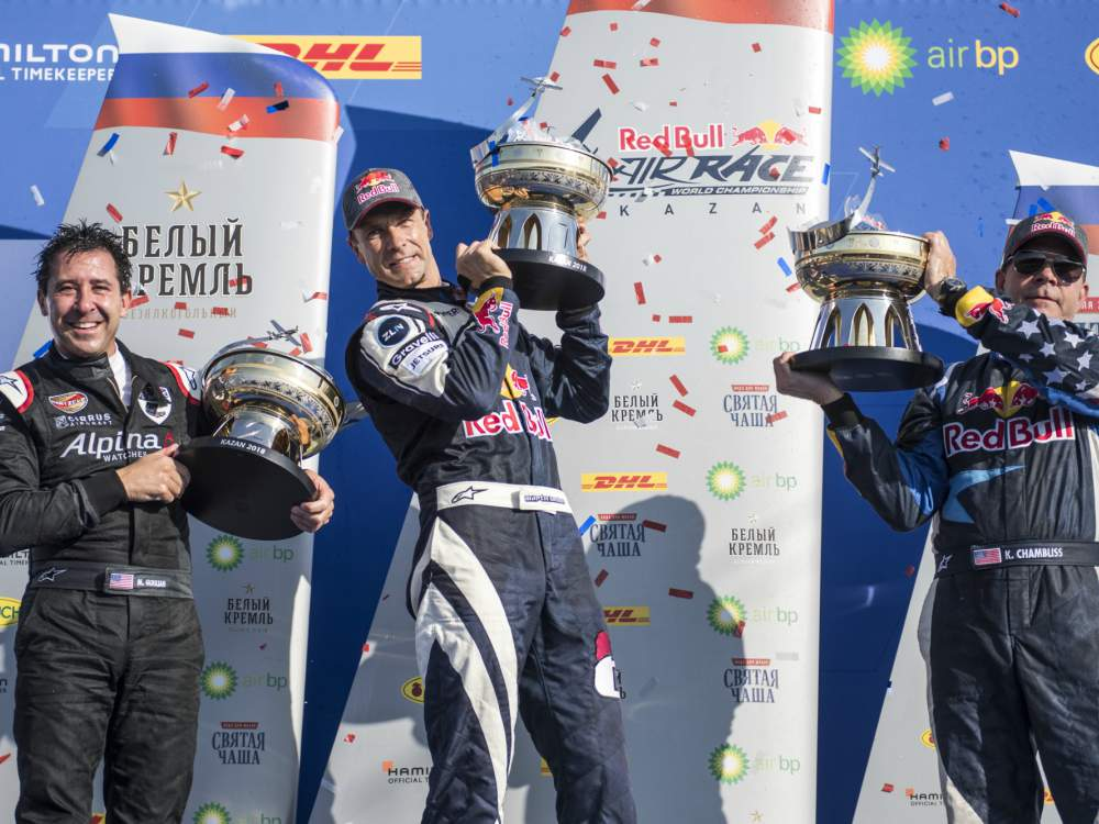 Mike Goulian winning the 2nd Place of RedBull AirRace World Championship - Mike Goulian 荣获 Red Bull Air Race 飞行赛亚军