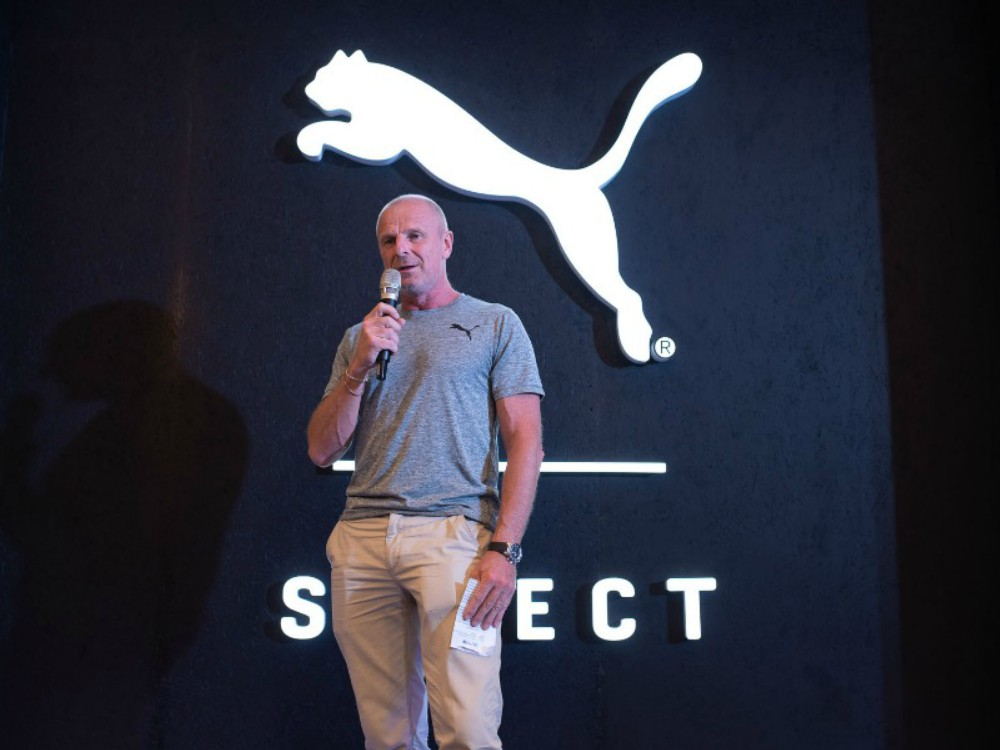 PUMA's Southeast Asia General Manager Philippe Le Bretton giving a speech - 荣升东南亚最大旗舰店 PUMA KLCC 扩展再开幕
