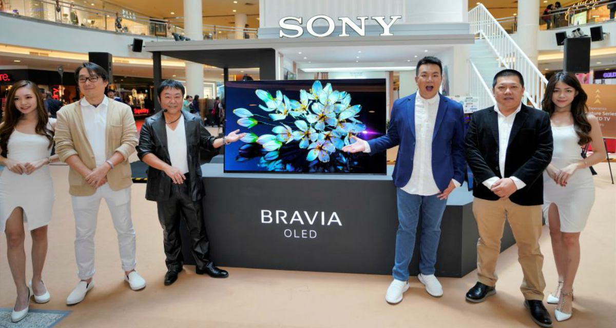 SONY BRAVIA OLED Roadshow Midvalley Jack Lim Feature - Sony Master BRAVIA OLED 旗舰电视华丽登场