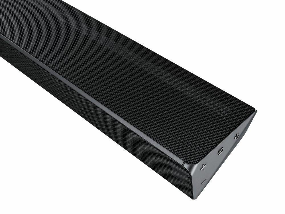 Samsung Panoramic Soundbar Home Theater Soundbar detail shot - Samsung Panoramic Soundbar 走进全景音响世界