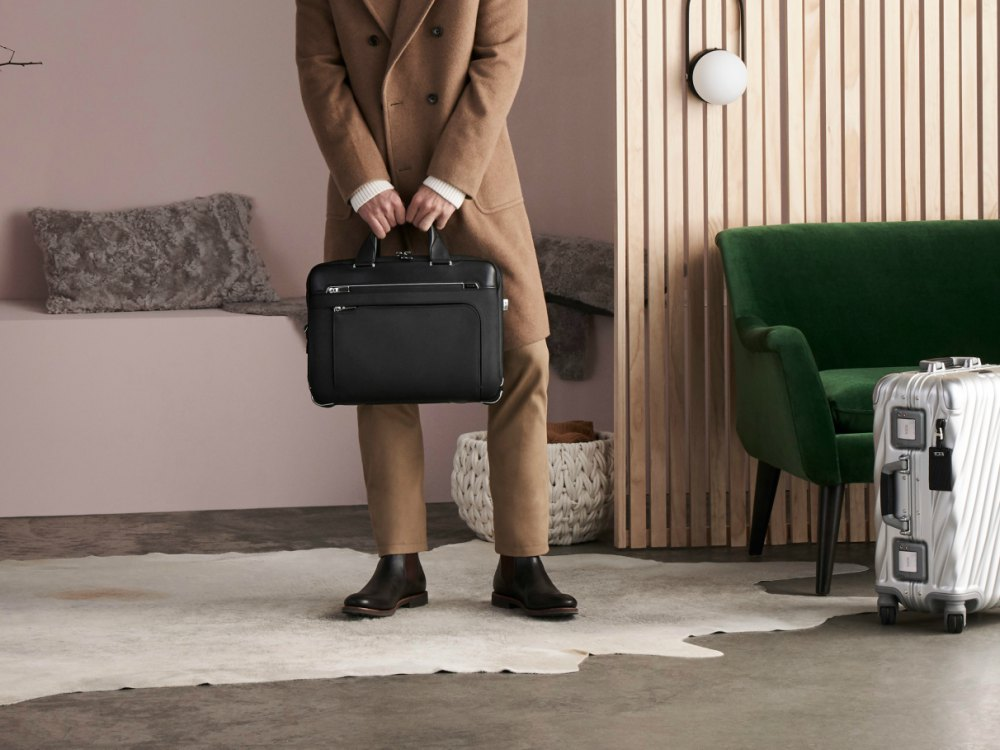 "TUMI Scandinavian Lodge Arrivé Collection - 2018 TUMI Scandinavian Lodge 专属于你的北欧""旅伴"""